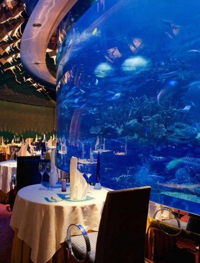 Acquari come arredamento nei migliori resort melik for Arredamento acquario