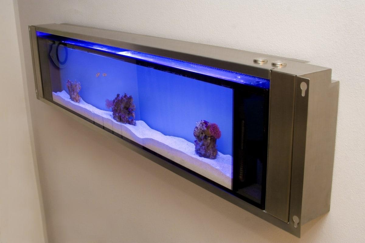 Acquari su misura verona casamia idea di immagine for Acquario da parete
